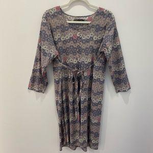 Gudrun Sjoden Organic Gray Dress Size Medium